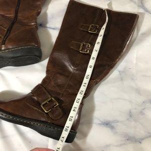 bfd4cb02788e b.o.c. Shoes - Born B.O.C. Cleo Dark Brown Buckle Wide Calf Boots